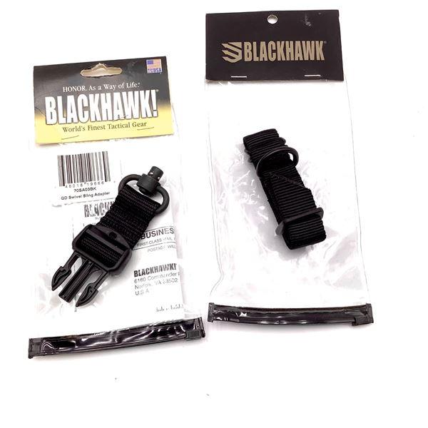 BlackHawk Sling Adapters X 2, Blk, New