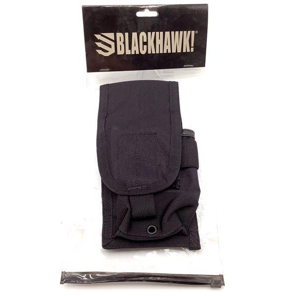 BlackHawk 37CL65BK Strike M4 / M16 Staggered Magazine Pouch, BLK, New