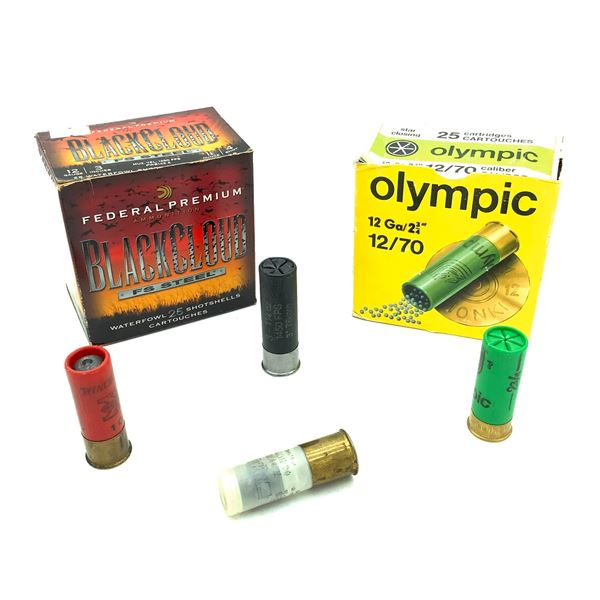 """Assorted 12 Ga 2 3/4"""" and 3"""" Ammunition, 28 Rounds"""