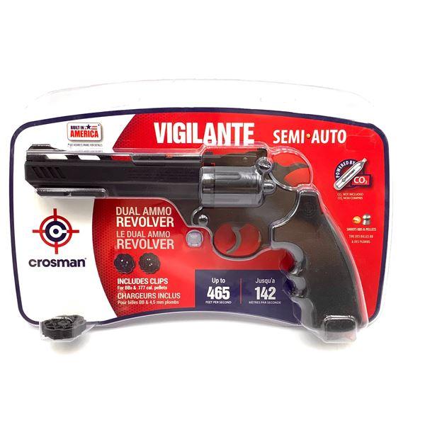 Crosman CCP8B2 Vigilante Semi Auto CO2 .177 / BB Revolver, Up to 465 fps, New