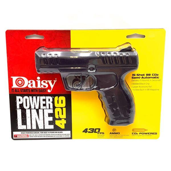 Daisy 980426 PowerLine 426 Semi Auto CO2 BB Pistol, Up to 430 fps, New