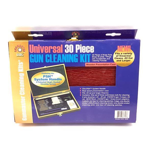 GunMaster UGC 56W Universal 30 Piece Gun Cleaning Kit, New