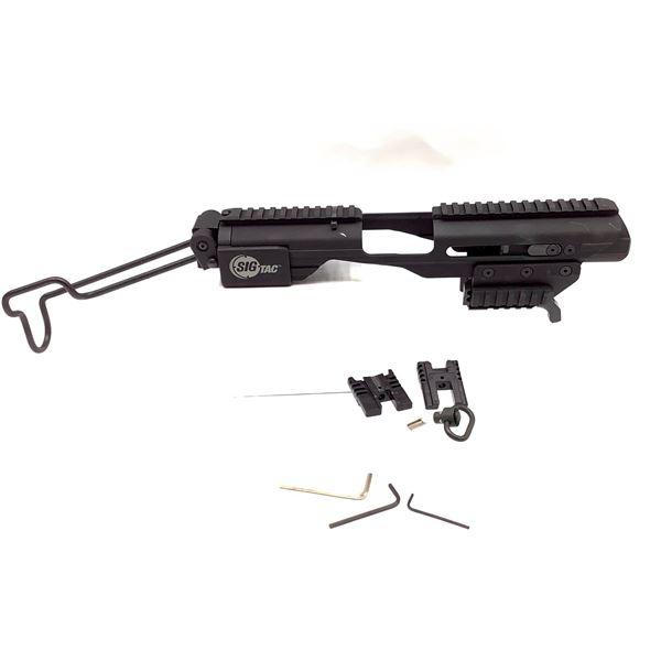 Sig Sauer ACP-LE Universal Rail Pistol to Carbine Folding Stock, Black, New