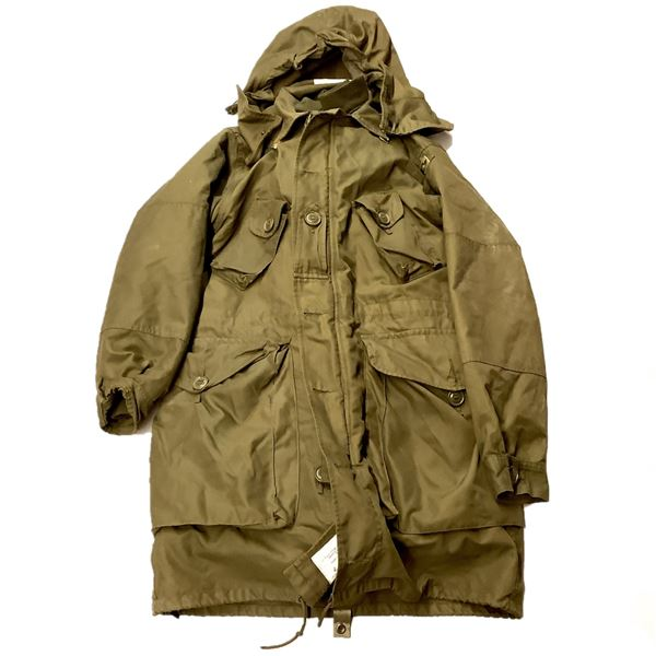 Military Extreme Cold Parka Size 7 Long Small, ODG