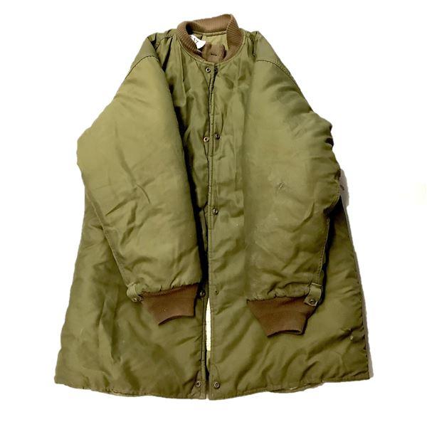 Military Extreme Cold Parka Size 3 Short Large, ODG