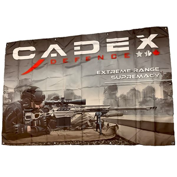"Cadex Defence Banner 58"" X 38"""