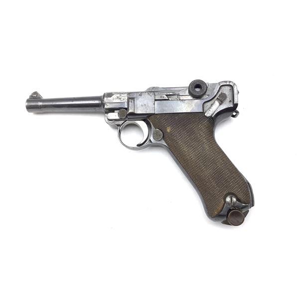 Luger P08 Semi Auto 9mm Prohibited