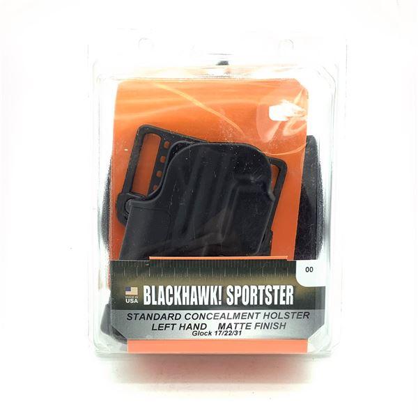 BlackHawk 415600BK-L LH Standard Glock 17/ 22 /31 Holster, New