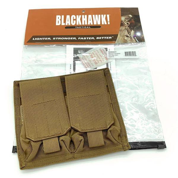 BlackHawk B2HB00CT M16- P-Mag Double Magazine Pouch, CT, New