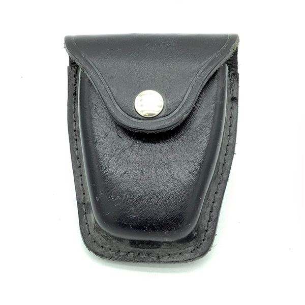 HWC Leather Handcuff Case with Belt Loop Attachment
