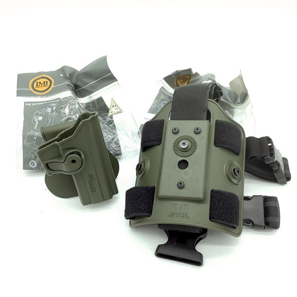 IMI Kydex Paddle Holster for Sig Sauer P229 & IMI Tactical Drop Leg Platform, New