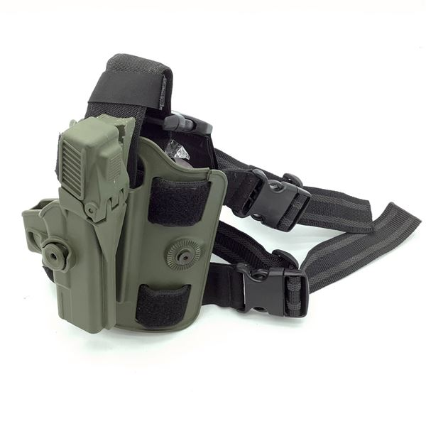 IMI Tactical Drop Leg Platform with Kydex Holster for Glock 19, Level 3