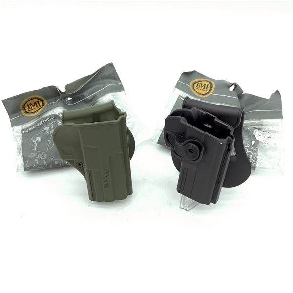 2 IMI Kydex Paddle Holsters, New