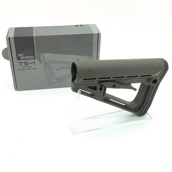 IMI TS-1 Tactical Stock for M16/ AR15, OD Green, New