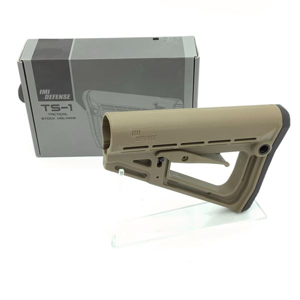 IMI TS-1 Tactical Stock for M16/ AR15, Tan, New