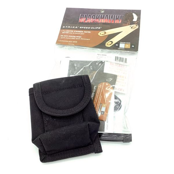 Blackhawk Camera Pouch with #5 Speed Clip, New