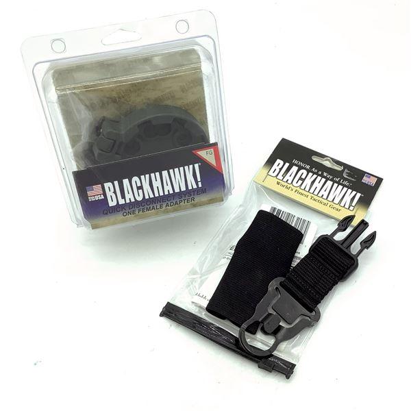 BlackHawk 70SA02BK Storm XT/QD Attachment and 430952FG QD System Female Adapter, FG, New