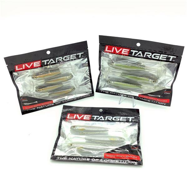Assorted Live Target Slow-Roll Shiner