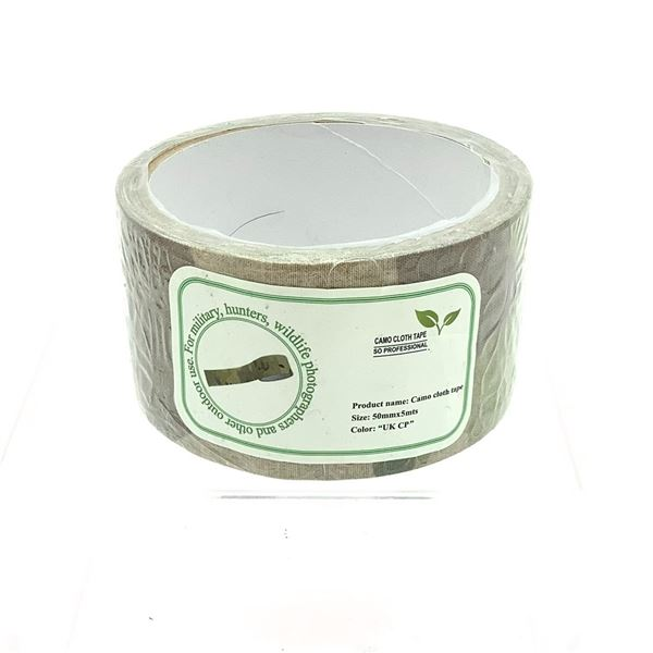 Cloth Camo Duct Tape, 50mm x 5 Meters