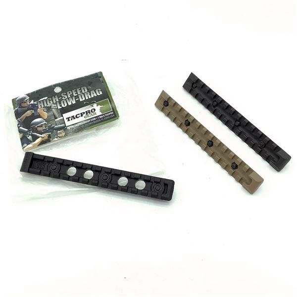 Assorted Polymer Rails X 3