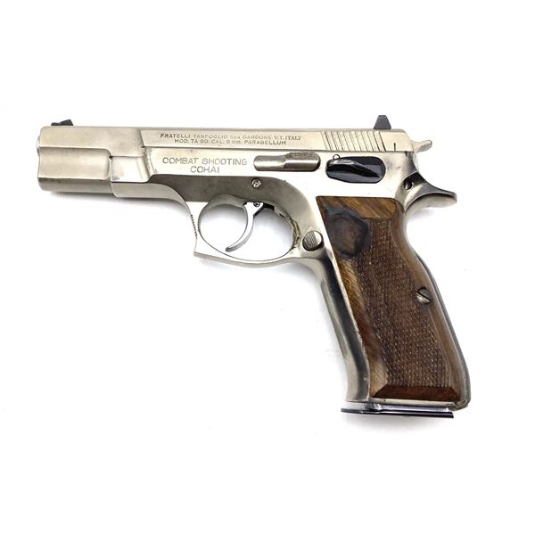 Tanfoglio TA 90 Combat Shooting Cohai 9mm Semi Auto Pistol Restricted