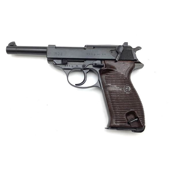 Walther P38 Semi Auto 9mm Pistol, Restricted