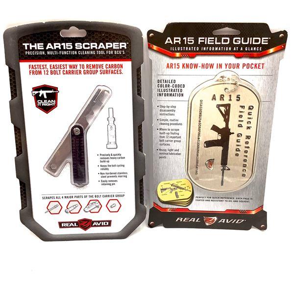 AR15 Field Guide and AR15 Scraper, New