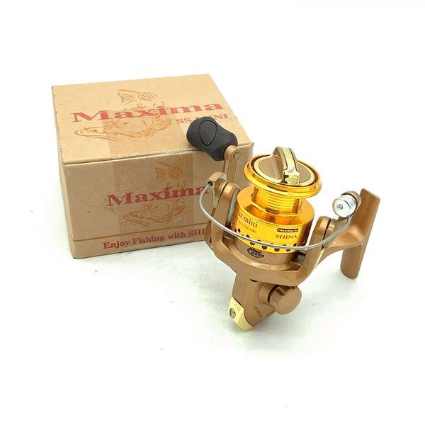 Maxima SS Mini Reel, Gold, New