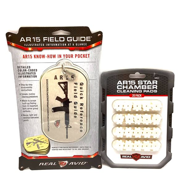 AR15 Field Guide, AR15 Star Chamber Cleaning Pads, New