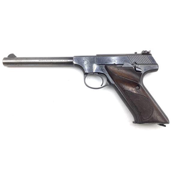 Colt Targetsman, 22lr Semi Auto Pistol Restricted