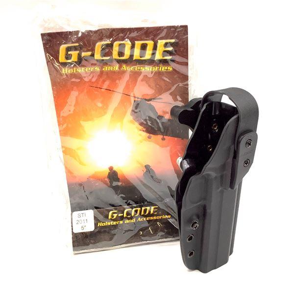 """G-Code Kydex, RH, XST Holster, STI 2011/5"""""""