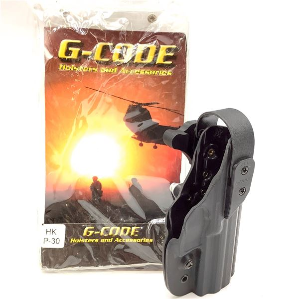 G-Code Kydex, RH, XST Holster, HK P30