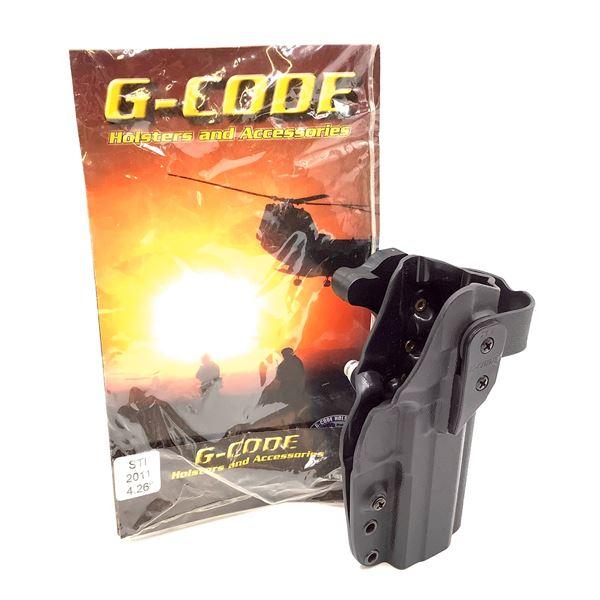 """G-Code Kydex, RH, XST Holster, STI 2011/4.26"""""""