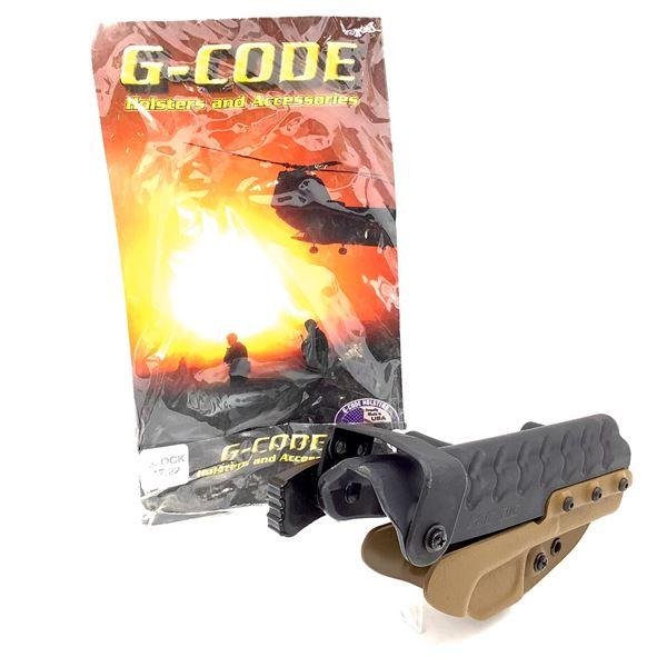 G-Code Kydex, RH, SOC Holster, Glock 17, 22