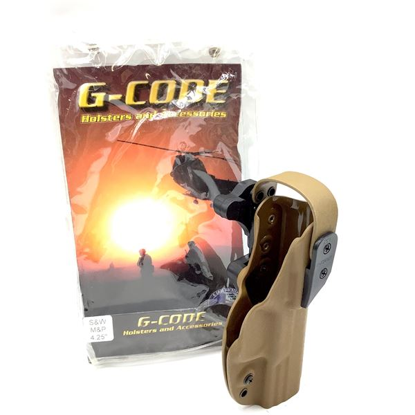 "G-Code Kydex, RH, XST Holster, S& W M& P .40 Caliber/4.25"""