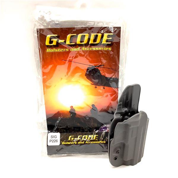 G-Code Kydex, RH, OSH Holster, SIG 226/MK25