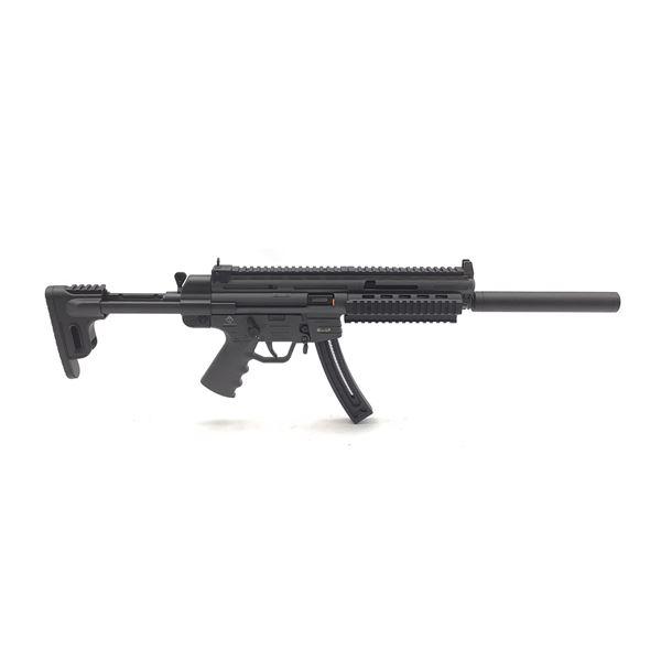 "GSG-16 Semi-Auto Rifle, .22 LR, 16.5"" Barrel, New"