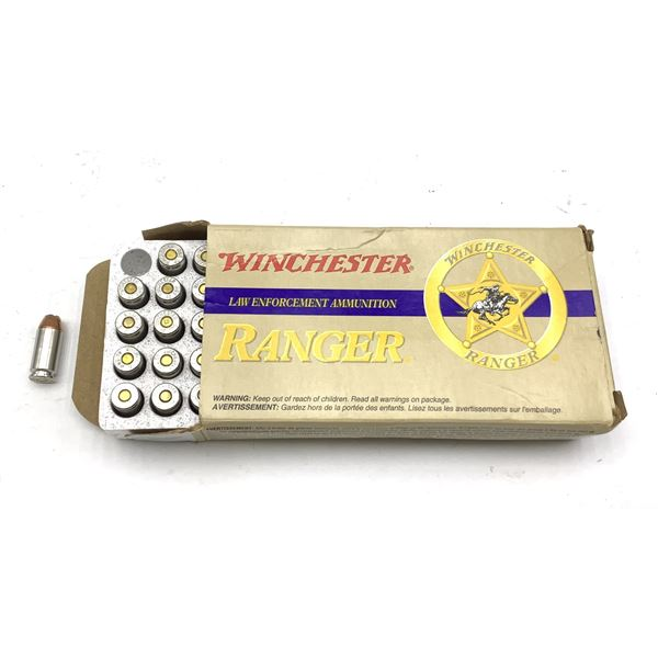 40 Smith & Wesson Winchester 180GR T Series  Ammunition, 50 Rounds