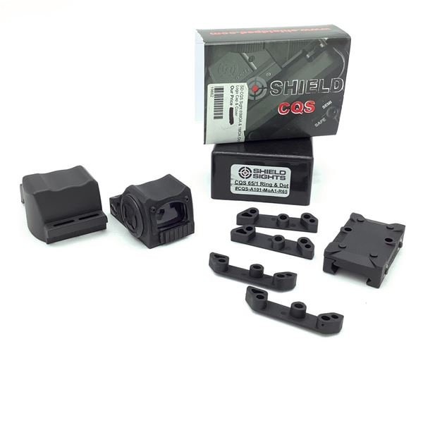 Shield CQS-A101-MOA1-R65 CQS 65/1 Ring and Optic, New