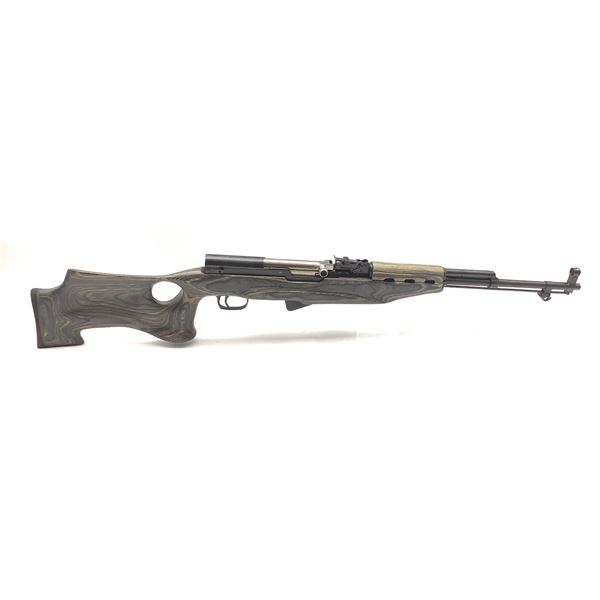 """Russian """"SKS"""" 7.62X 39mm with Laminate Thumb Hole Stock"""