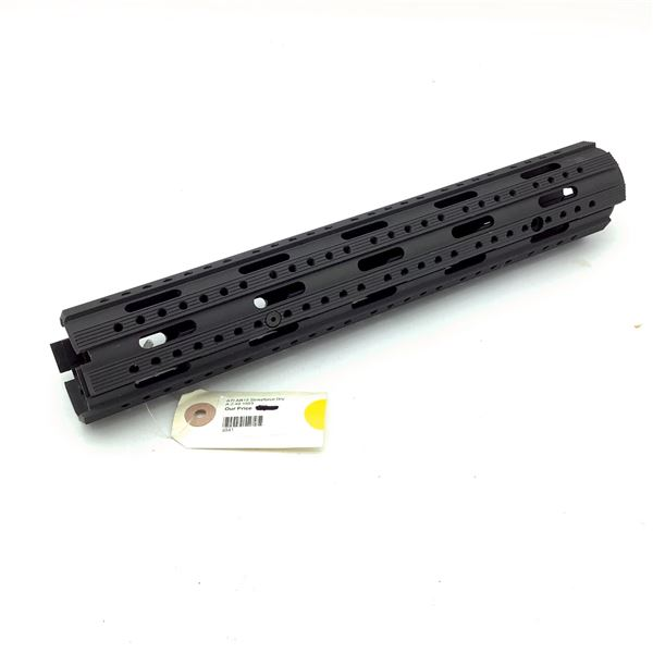 ATI A.2.40 1053 Ar-15 Strikeforce Stock with Recoil System, Black, New