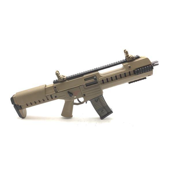 GSG G14 Carbine Airsoft EBB Electric Blowback AEG Gun w/ Burst Fire, Tan, New