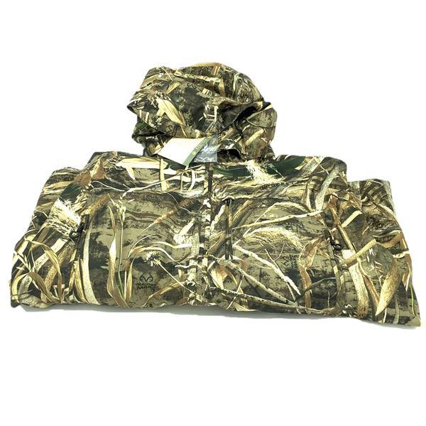 Beretta Waterfowler Polyester Jacket, Max5, XXL, New