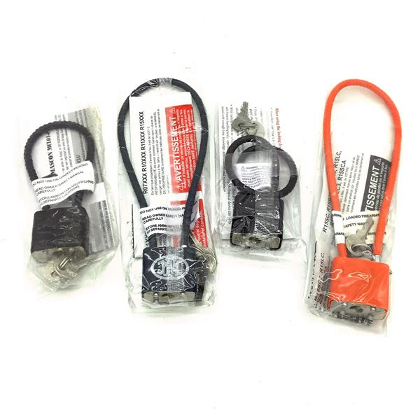 Cable Locks X 4