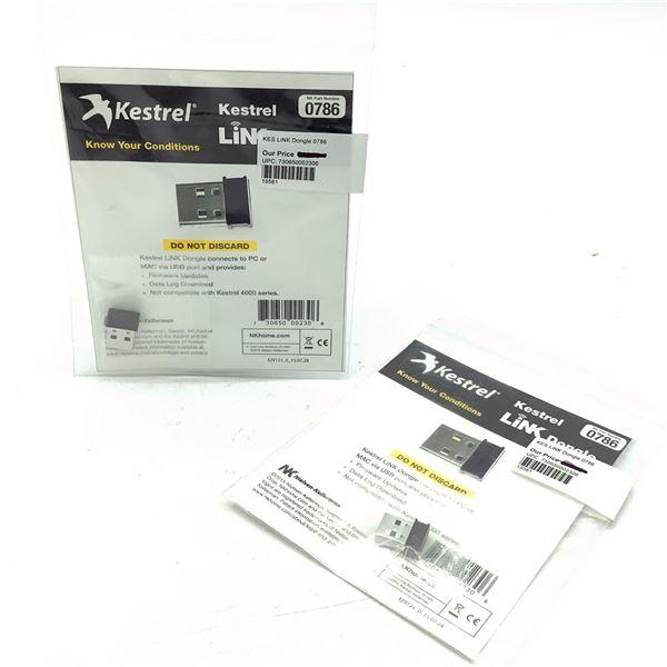 Kestrelmeters Link Dongle 0786 X 2, New