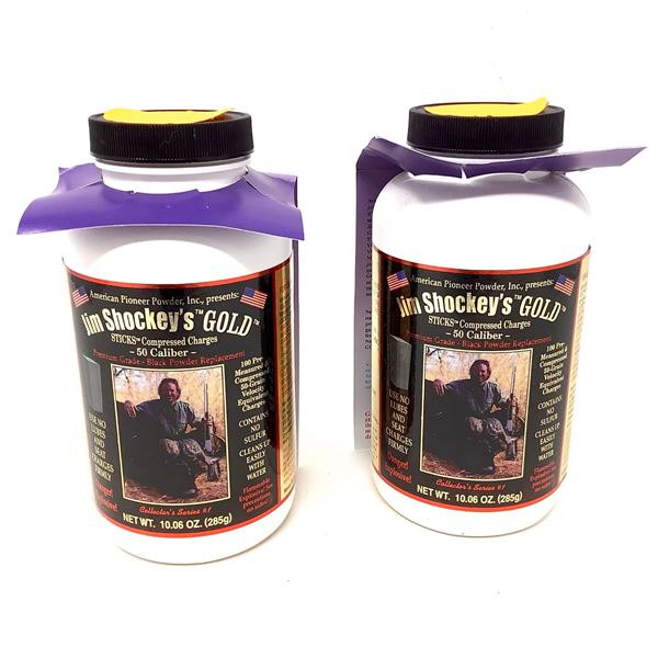 Jim Shockey's Gold Sticks for 50 Cal, 50 Gr Equivalent, 100 Pc X 2