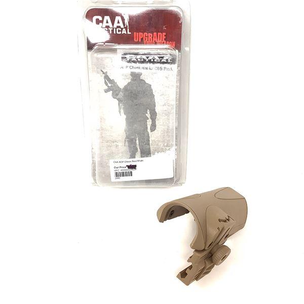 CAA Tactical ACP Cheek Rest for CBS Stock, FDE, New