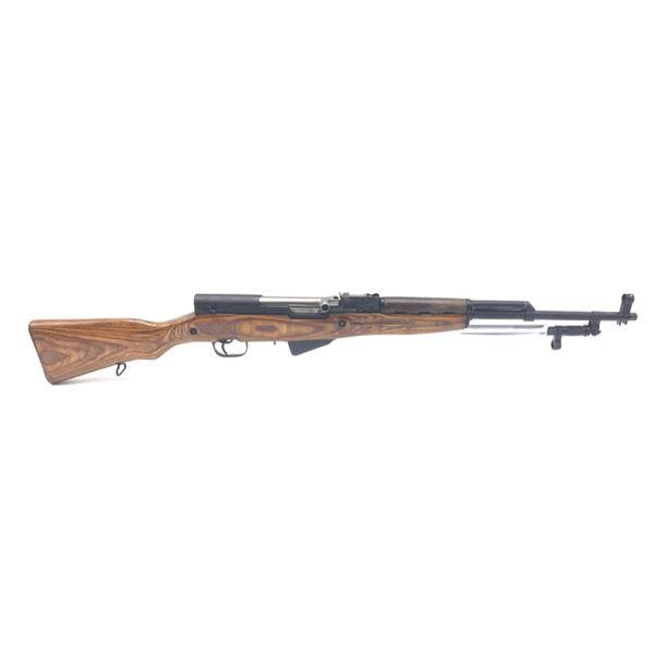 Soviet SKS Semi-Automatic Carbine, 7.62X39, Laminate Stock, Surplus