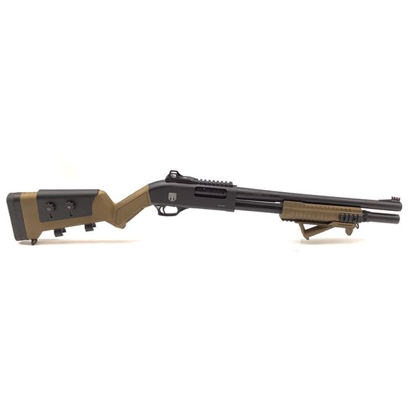 """Revolution Armory PGS M91 12 Ga Pump Action Tactical Shotgun, 16.5"""" Barrel, New"""