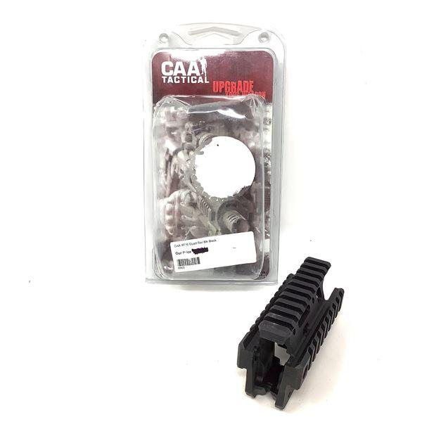 CAA Tactical XF16 AR-15 / M16 Front Quad Picatinny Rail System, Blk, New